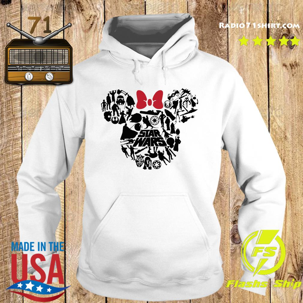 Mickey Mouse Star Wars Shirt Hoodie