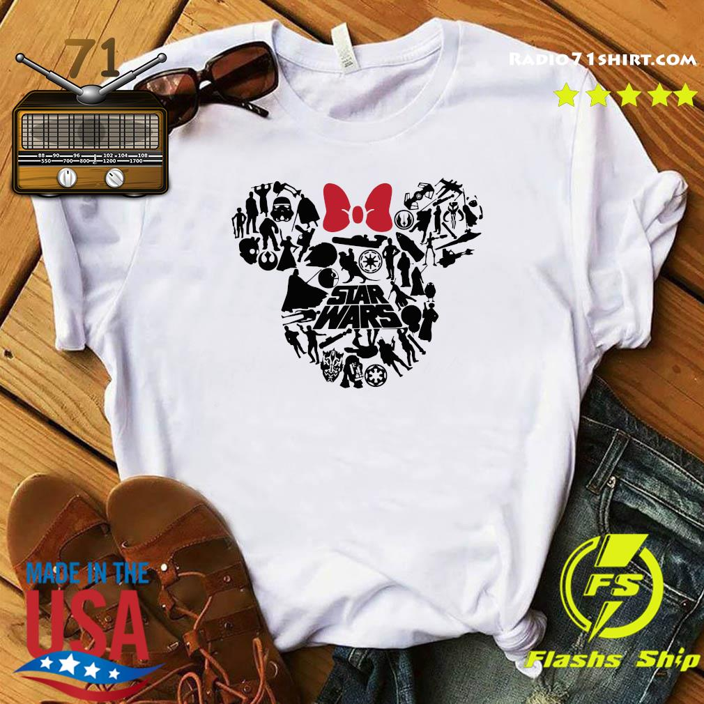 Mickey Mouse Star Wars Shirt