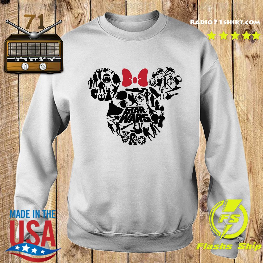 Mickey Mouse Star Wars Shirt Sweater