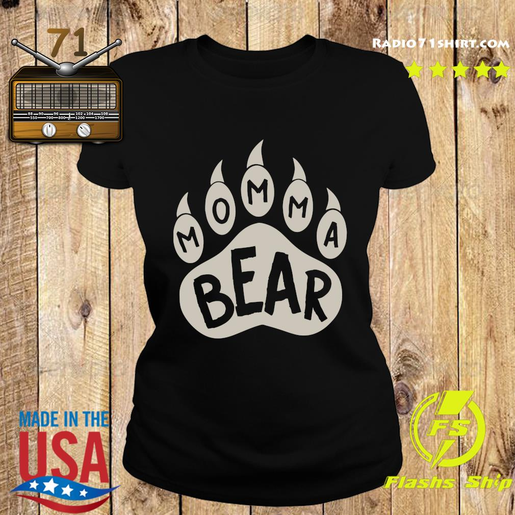 Momma Bear Shirt Ladies tee