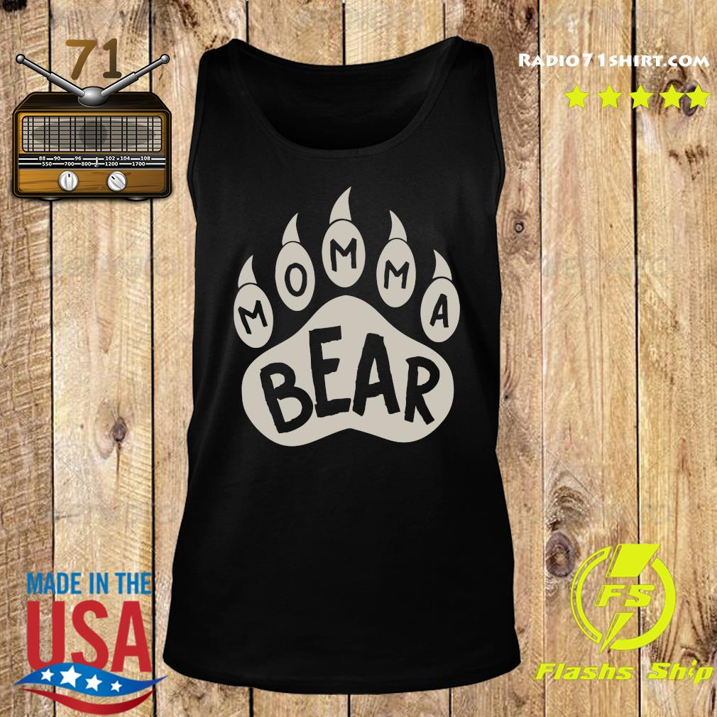 Momma Bear Shirt Tank top
