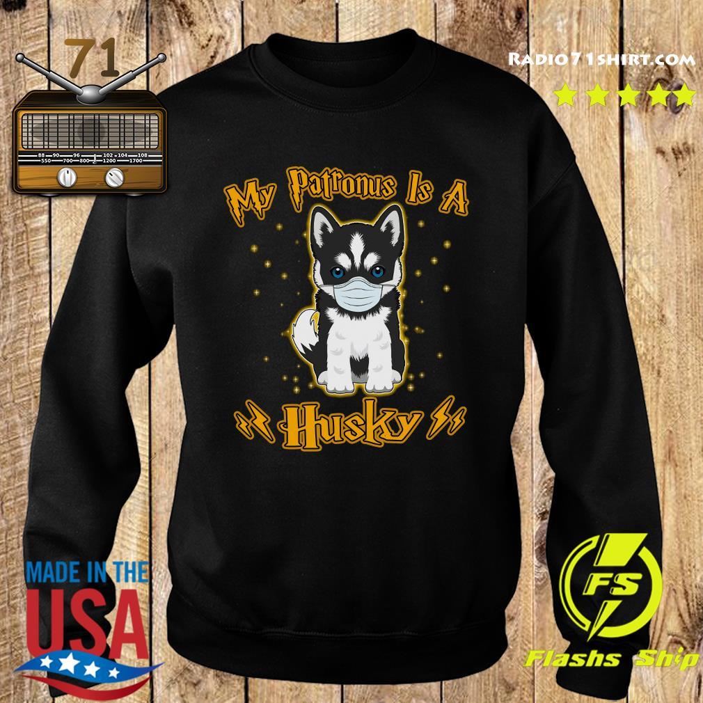 My Patronus Is A Husky Face Mask Shirt Sweater