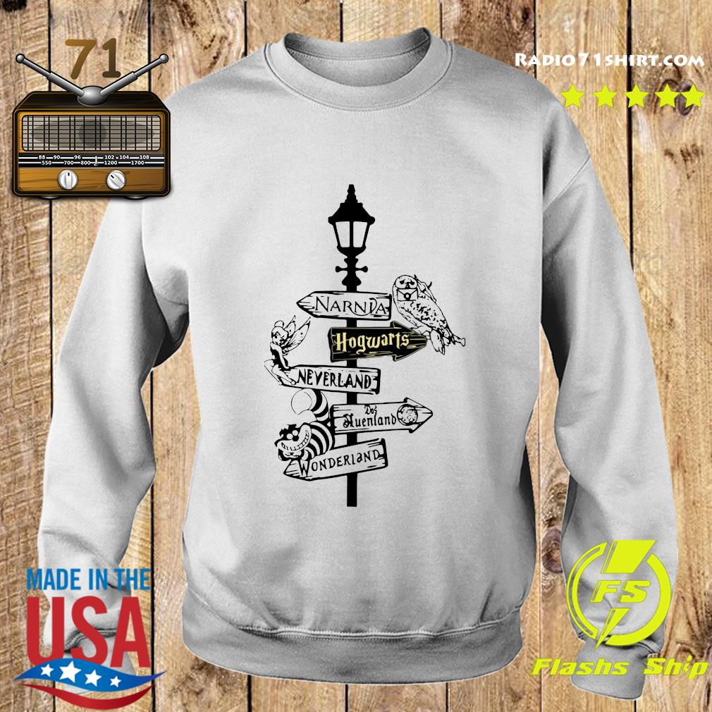 Narnia Hogwarts Neverland Queensland Wonderland Shirt Sweater