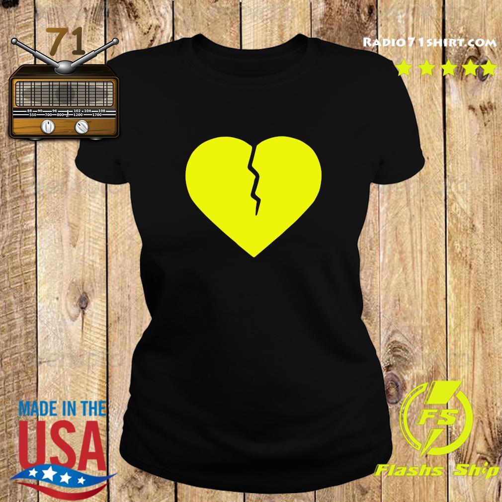 Official Marcus Lemonis Broken Heart T-Shirt Ladies tee