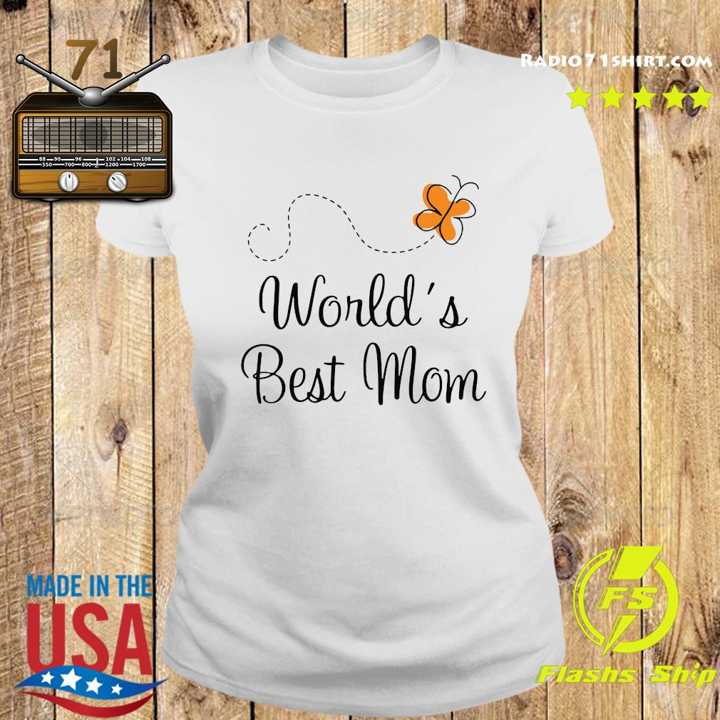 Official Worlds Best Mom 2020 Shirt Ladies tee