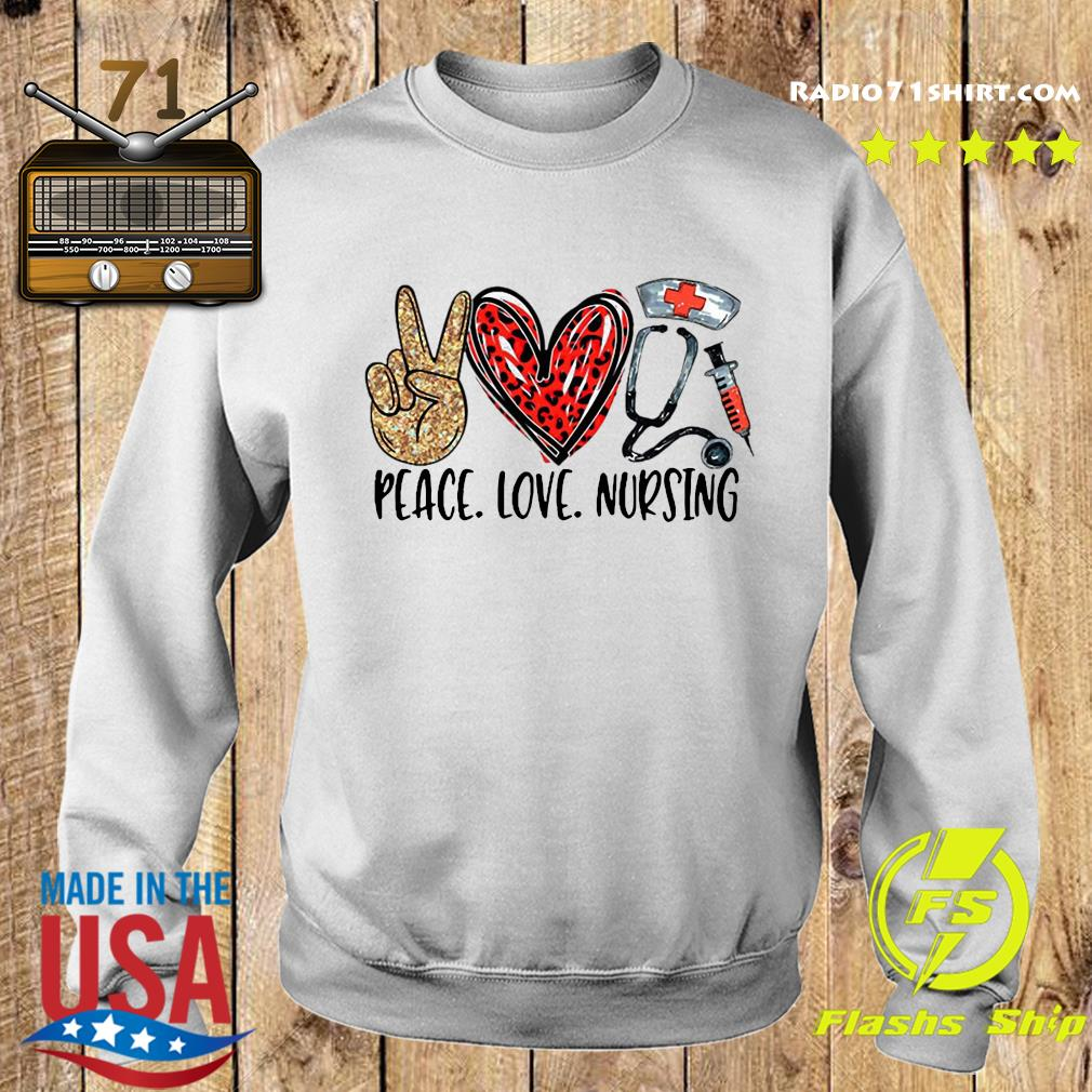 Peace Love Nursing Shirt Sweater