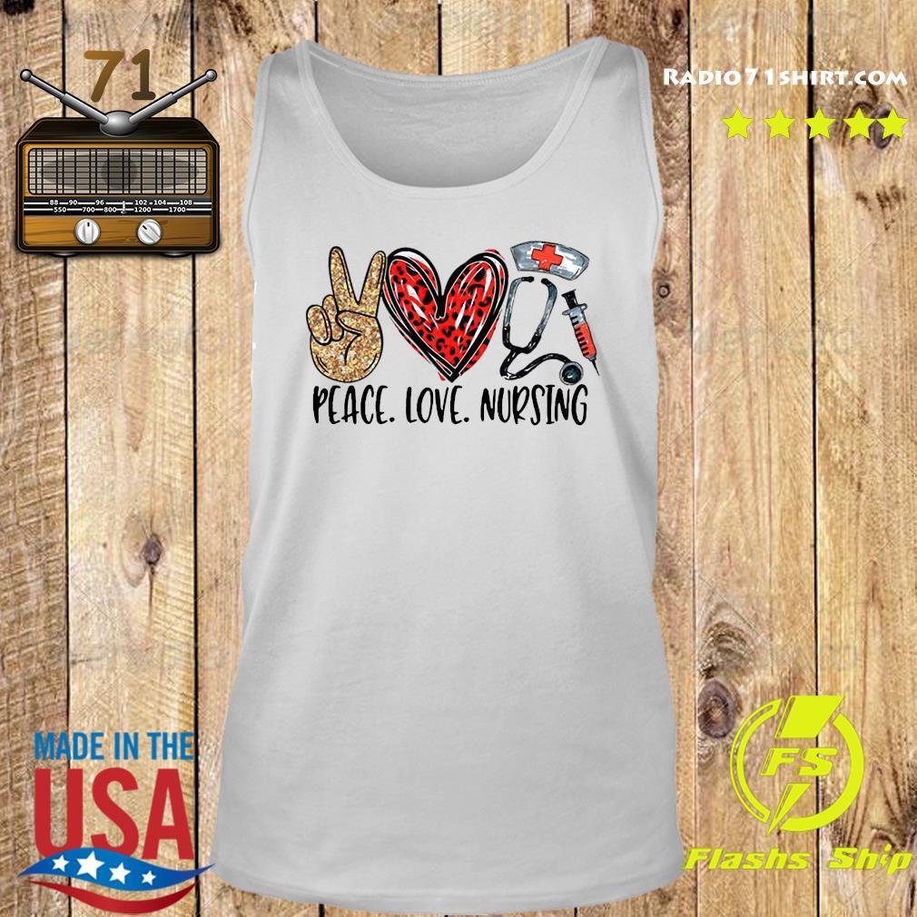 Peace Love Nursing Shirt Tank top