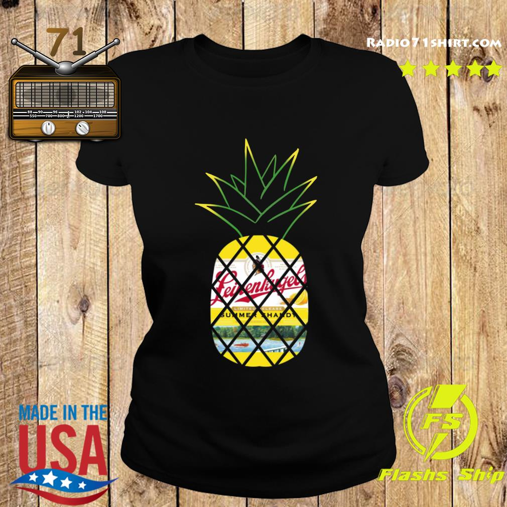 Pineapple Leinenkugel's Summer Shandy beer s Ladies tee