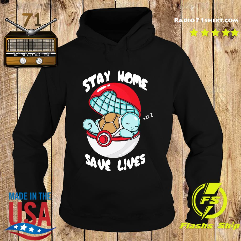 Pocket Pokemon Stay Home Save Lives Shirt Hoodie