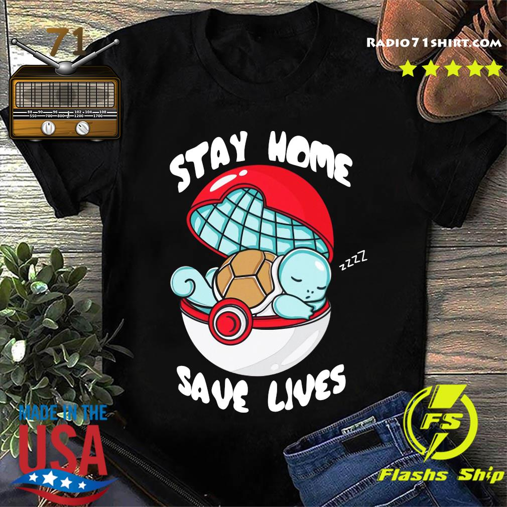 Pocket Pokemon Stay Home Save Lives Shirt