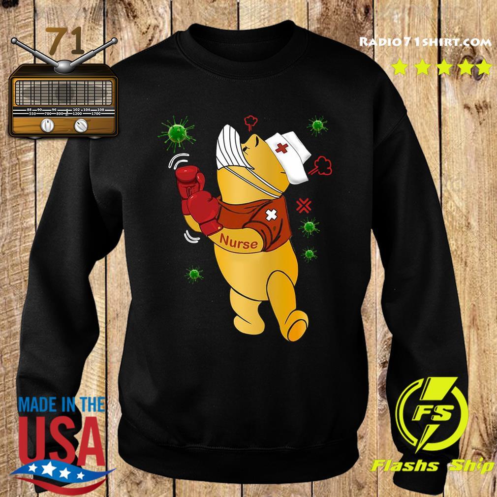 Pooh Nurse Boxing Coronavirus s Sweater