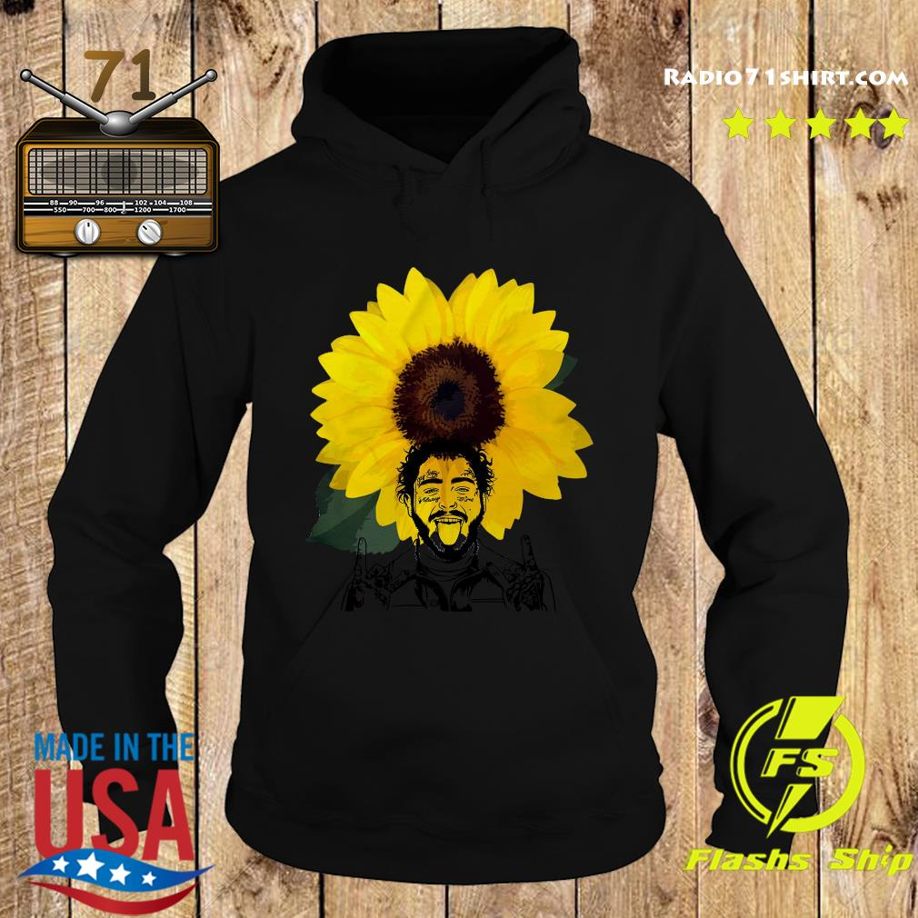 Post Malone Sunflowers Shirt Hoodie