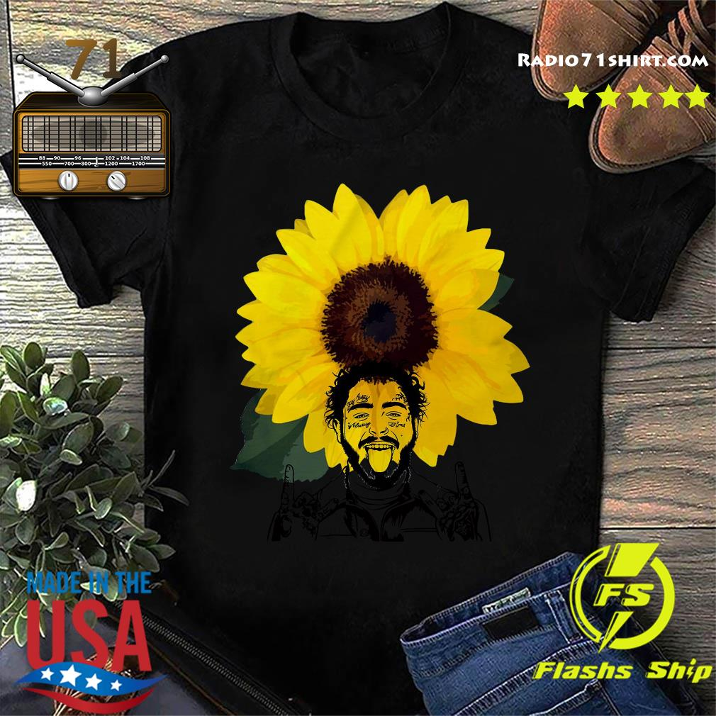Post Malone Sunflowers Shirt