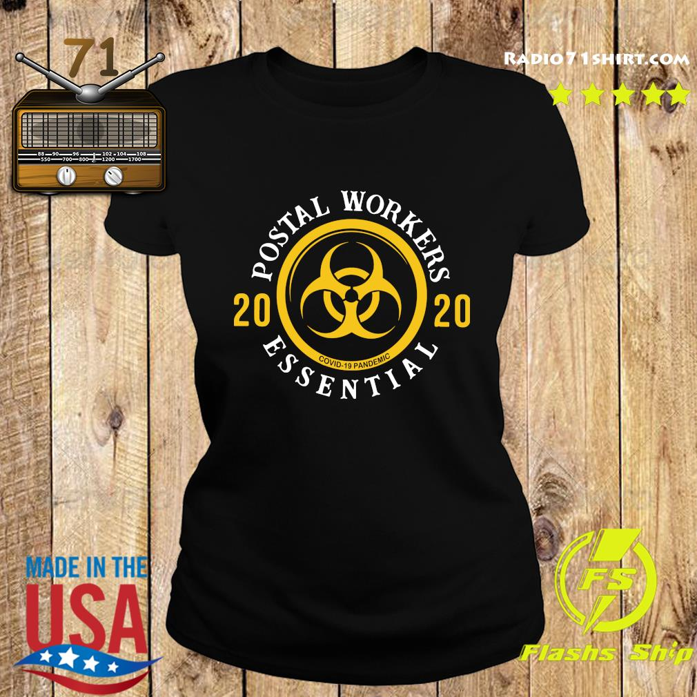Postal Workers 2020 We Fight When Others Can't Shirt Ladies tee