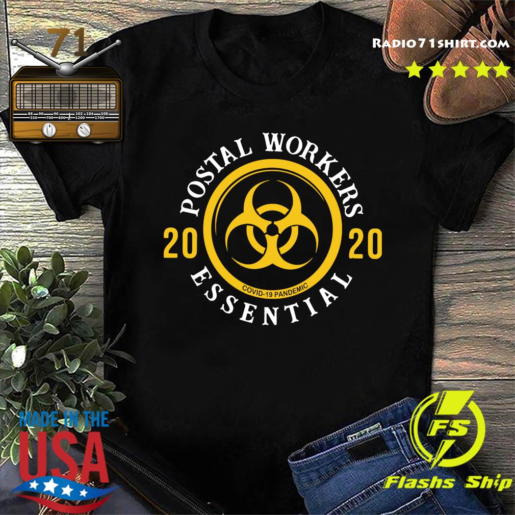Postal Workers 2020 We Fight When Others Can't Shirt