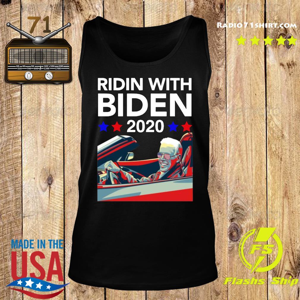 Ridin With Biden Vote Joe Biden 2020 Shirt Tank top