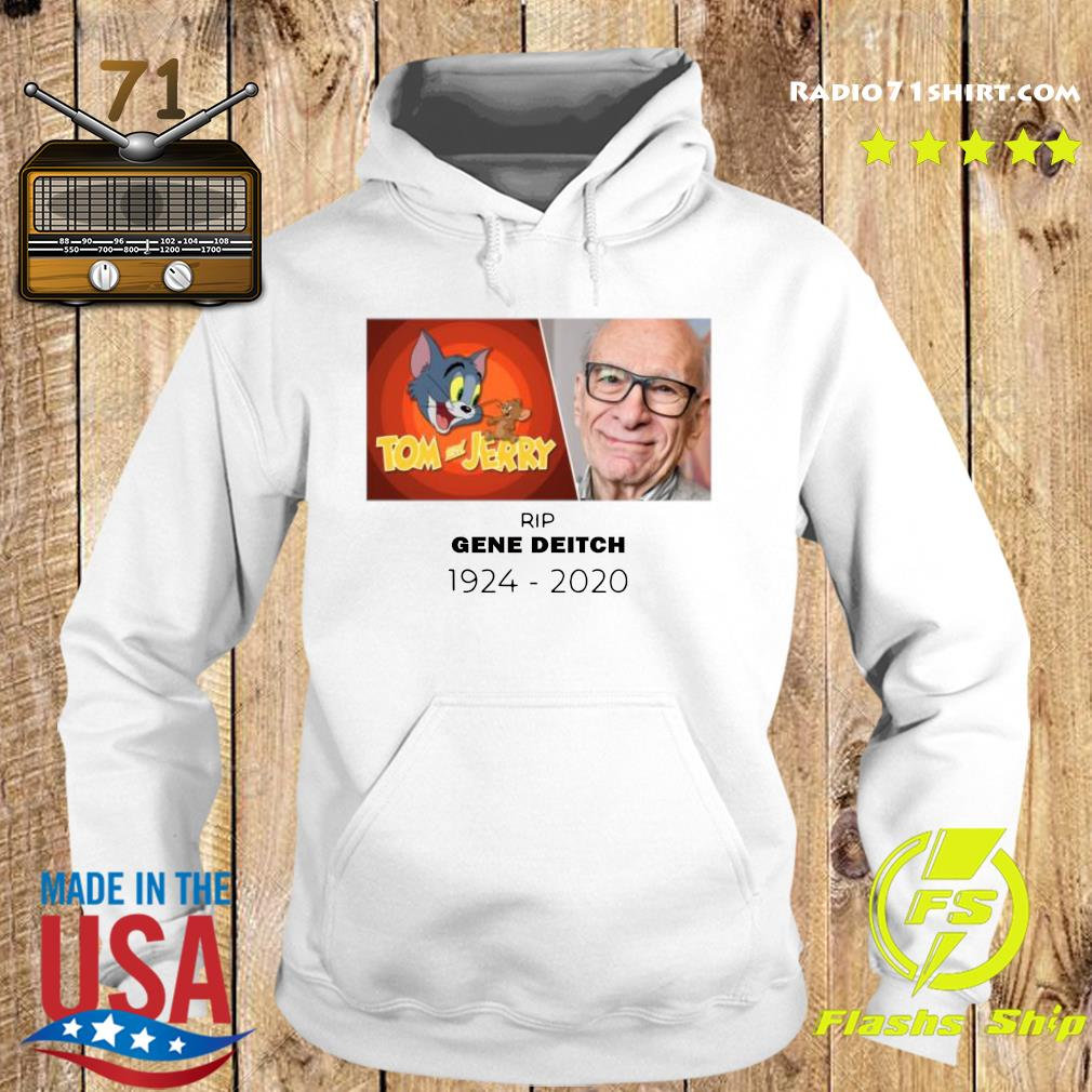 Rip Gene Deitch 1924 2020 Tom And Jerry Shirt Hoodie