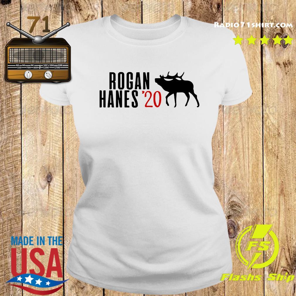 Rogan Hanes 2020 Giraffe Shirt Ladies tee