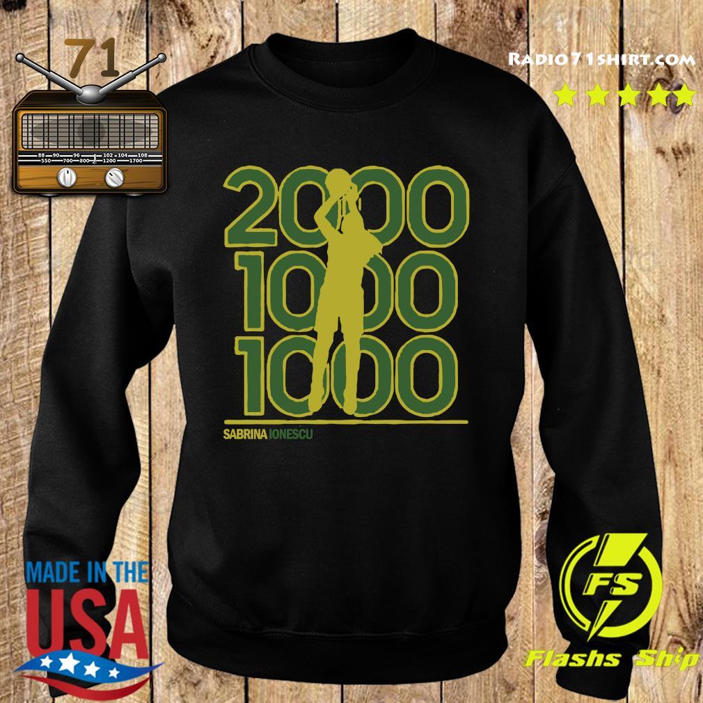 Sabrina Ionescu 2,000-1,000-1,000 Club Shirt Sweater