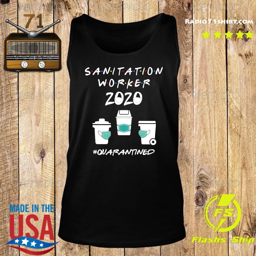 Sanitation Worker 2020 Quarantined Shirt Tank top