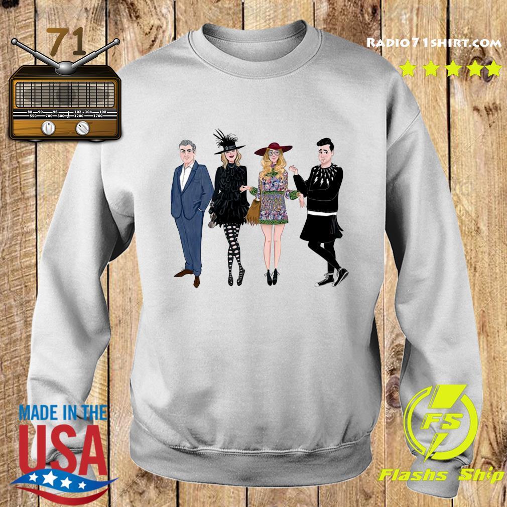 Schitt's Creek Cartoons Characters s Sweater