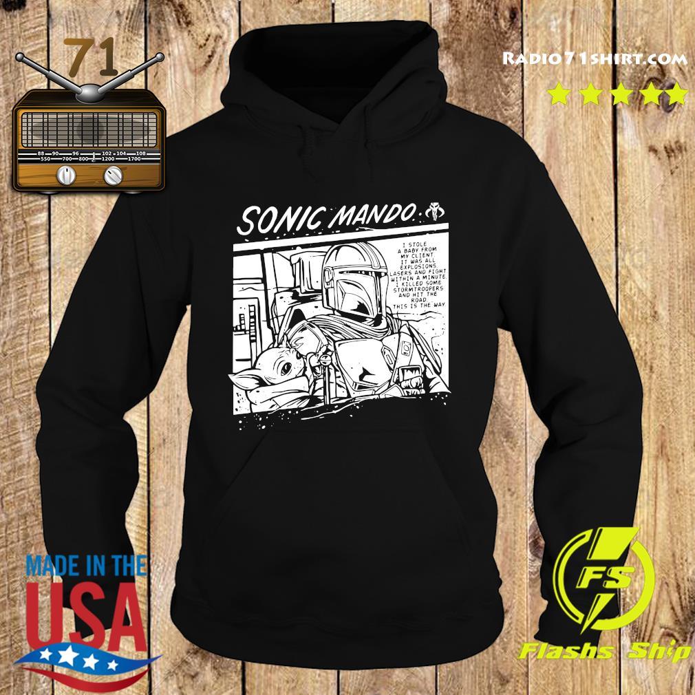 Sonic Mando Shirt Hoodie