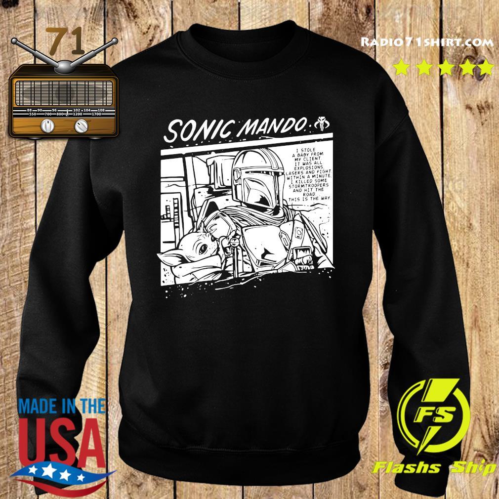 Sonic Mando Shirt Sweater