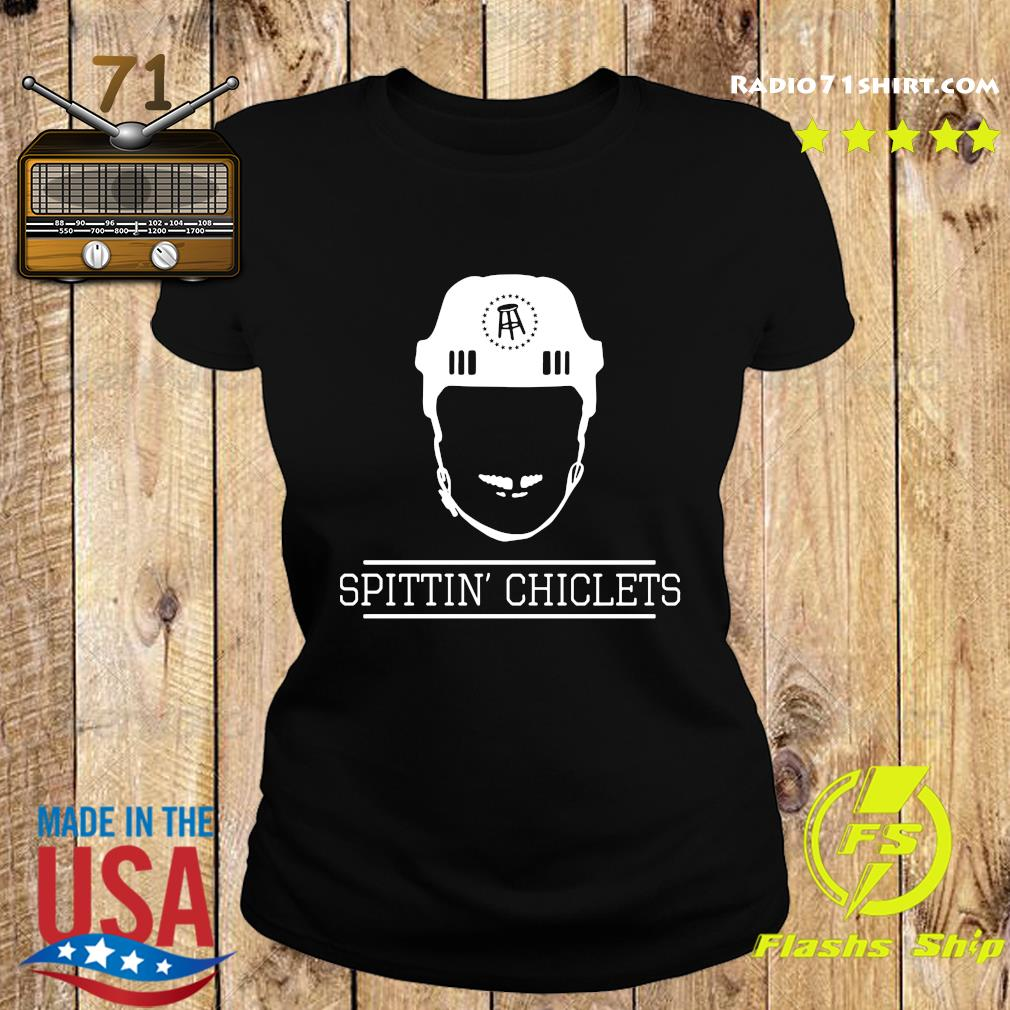 Spittin Chiclets Mineral Wash Helmet Shirt Ladies tee