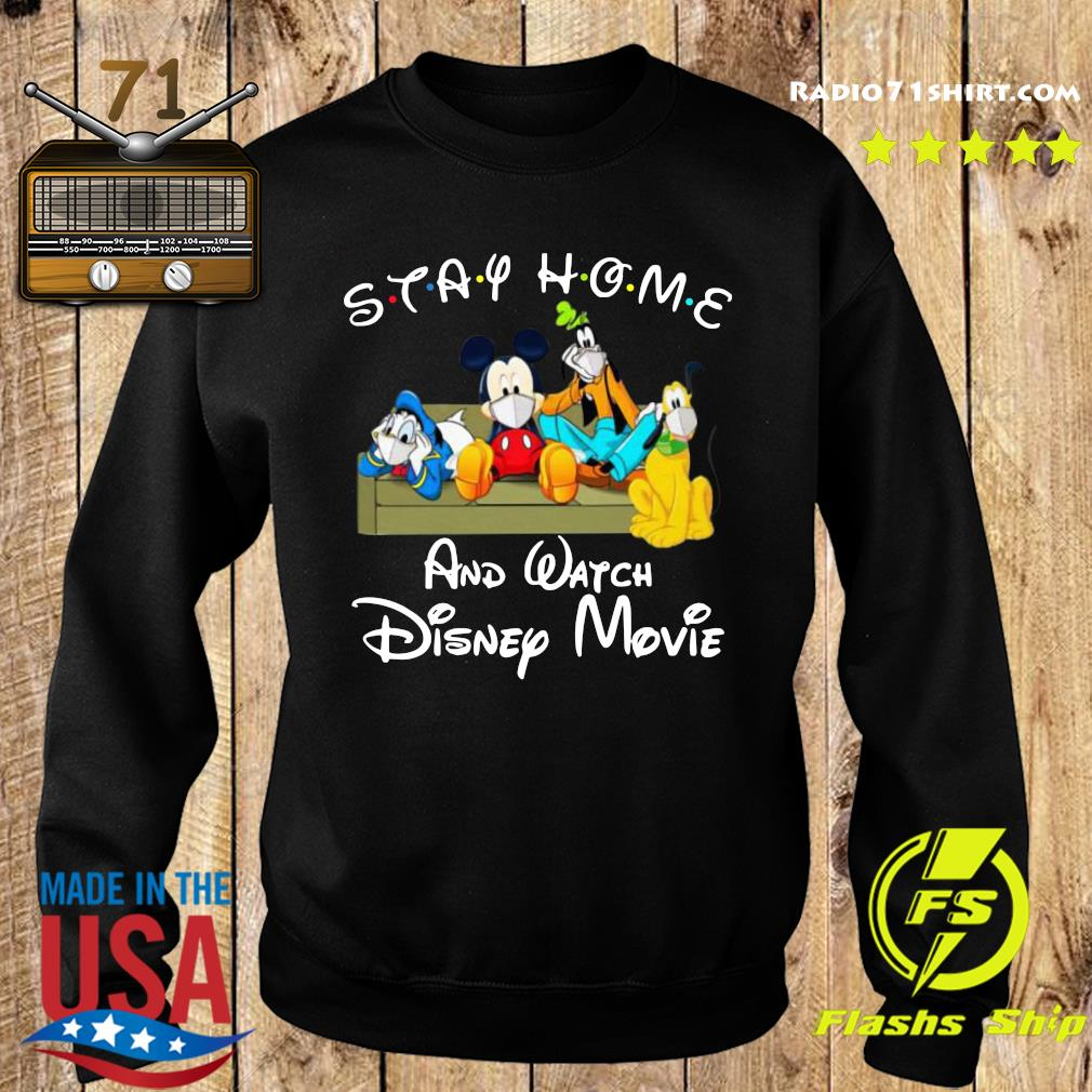 Stay Home And Watch Disney Movie Shirt Sweater