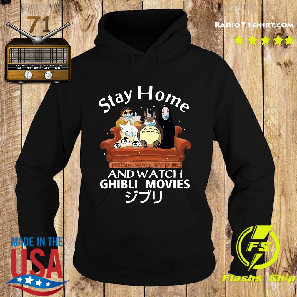 Stay Home And Watch Ghibli Movies Shirt Hoodie