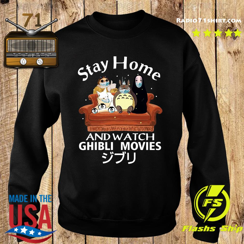 Stay Home And Watch Ghibli Movies Shirt Sweater