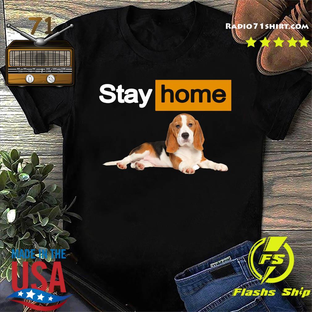 Stay Home Beagle Shirt