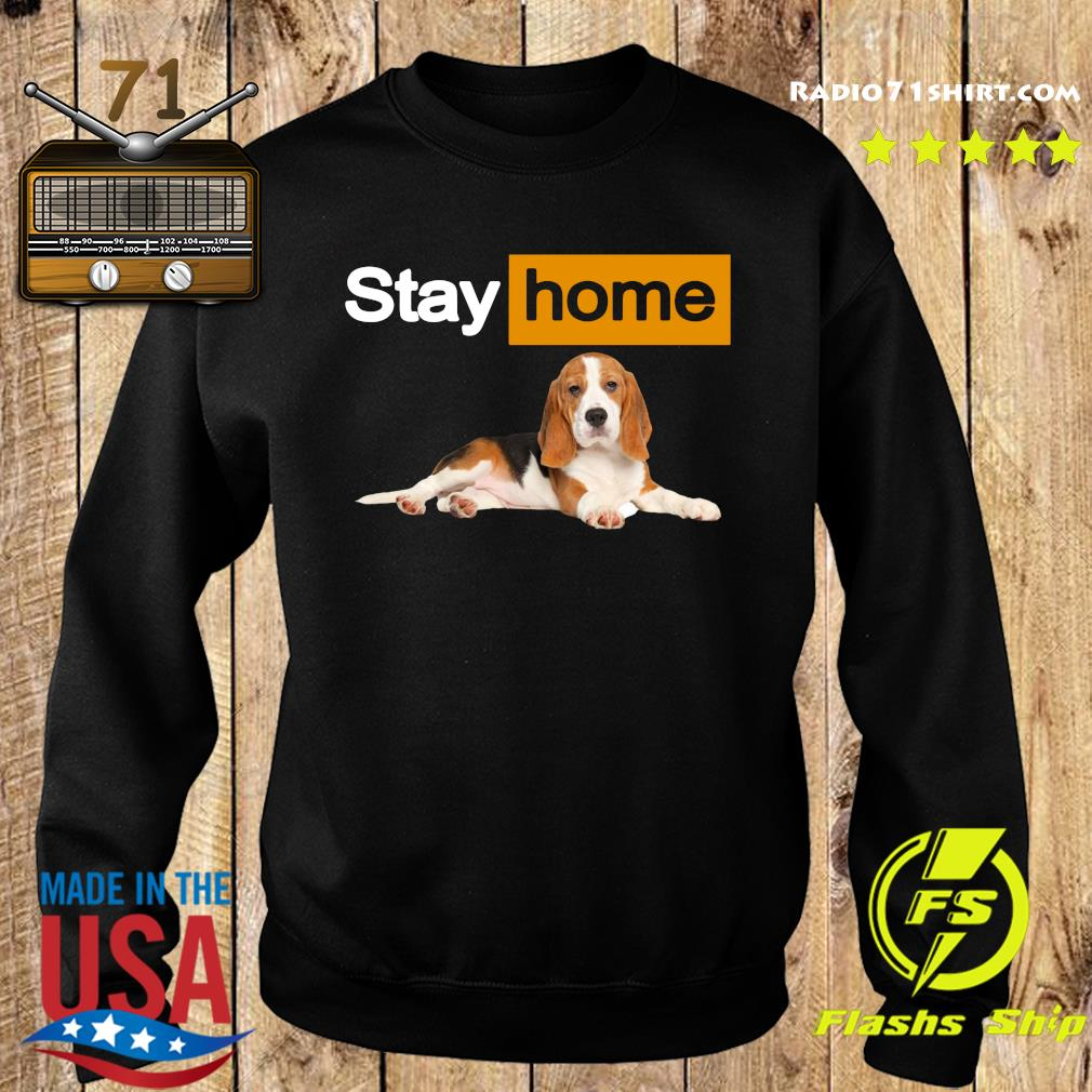 Stay Home Beagle Shirt Sweater