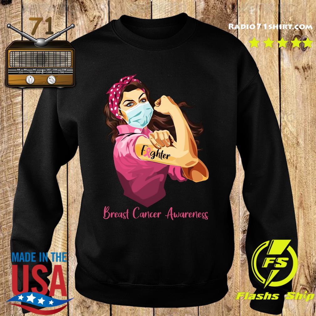 Strong Woman Tattoo Fighter Breast Cancer Awareness Shirt Sweater