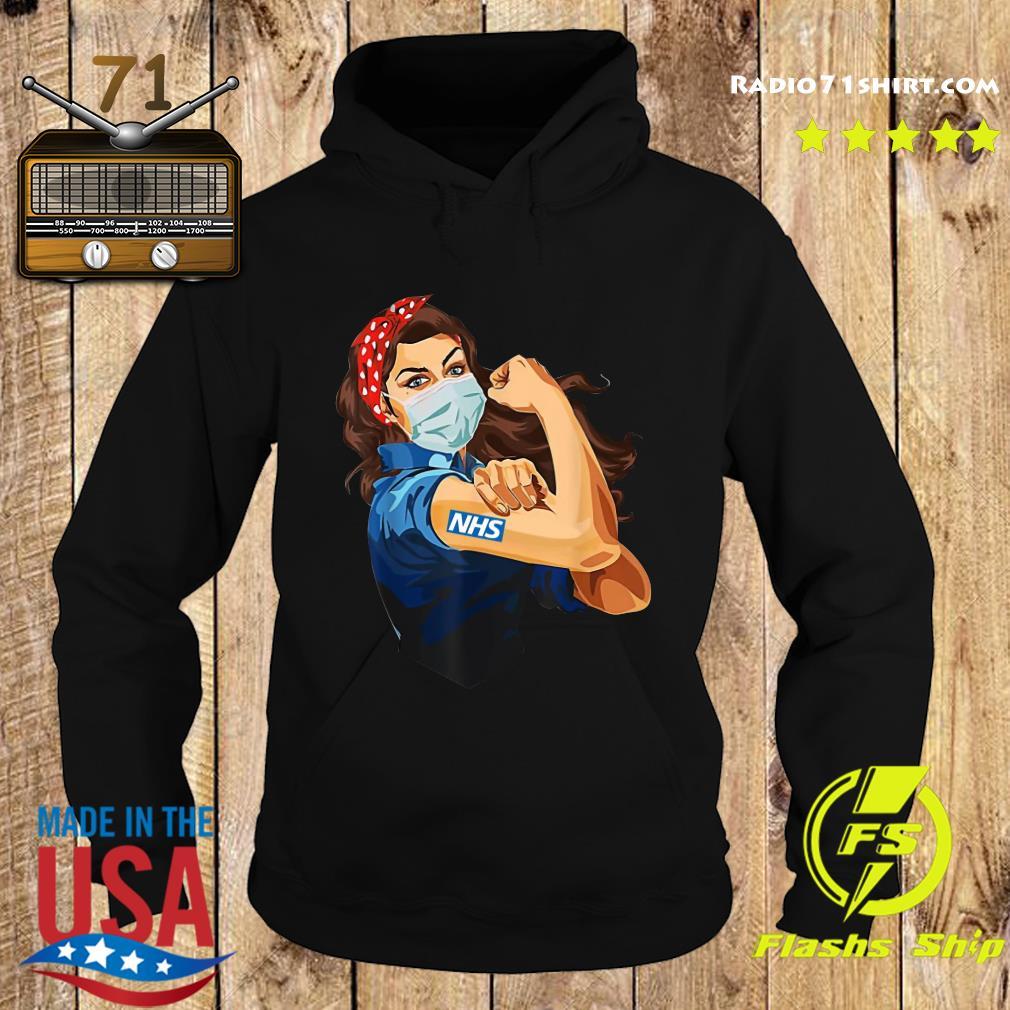 Strong Woman Tattoo NHS Shirt Hoodie