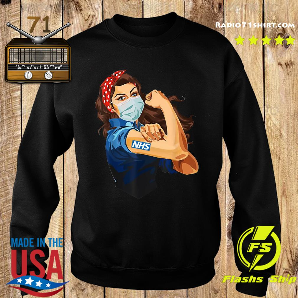 Strong Woman Tattoo NHS Shirt Sweater
