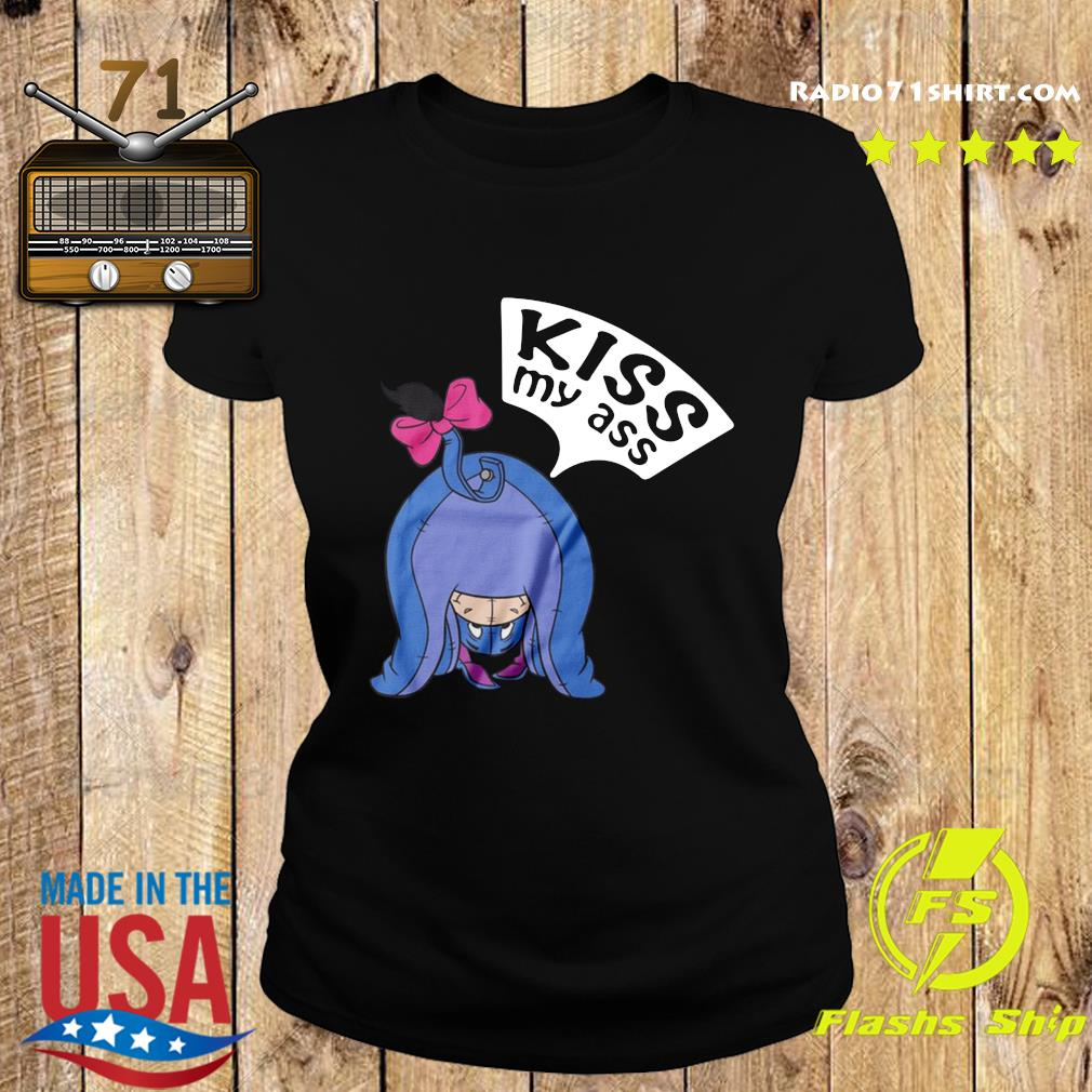The Elephant Kiss My Ass Shirt Ladies tee