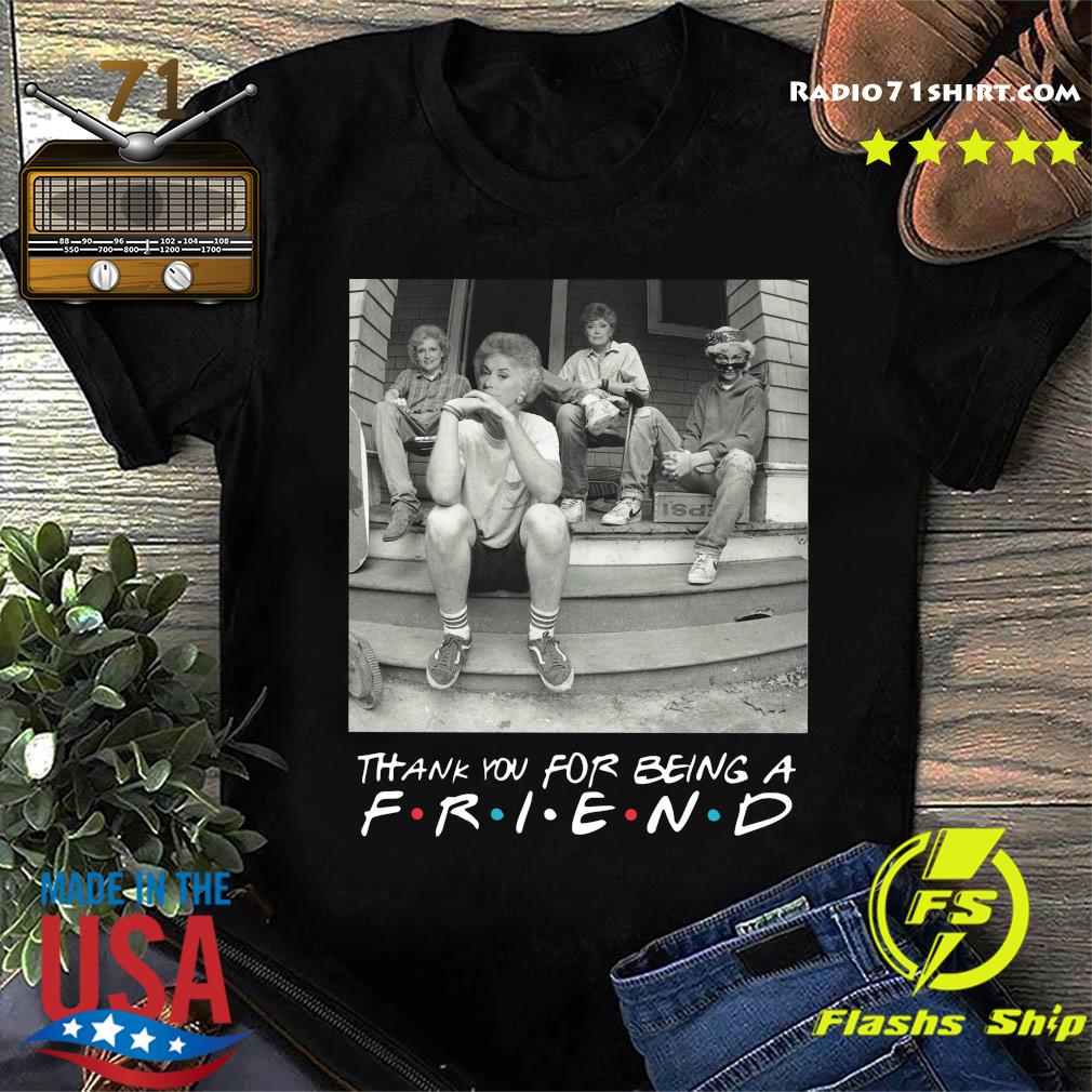 The Golden Girl Mashup Minor Threat Steps Shirt