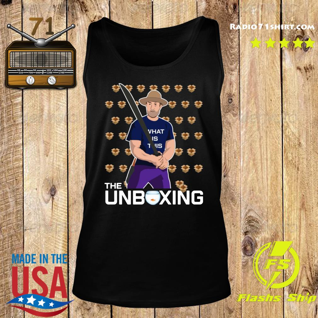 The Unboxing Collection 2020 Shirt Tank top