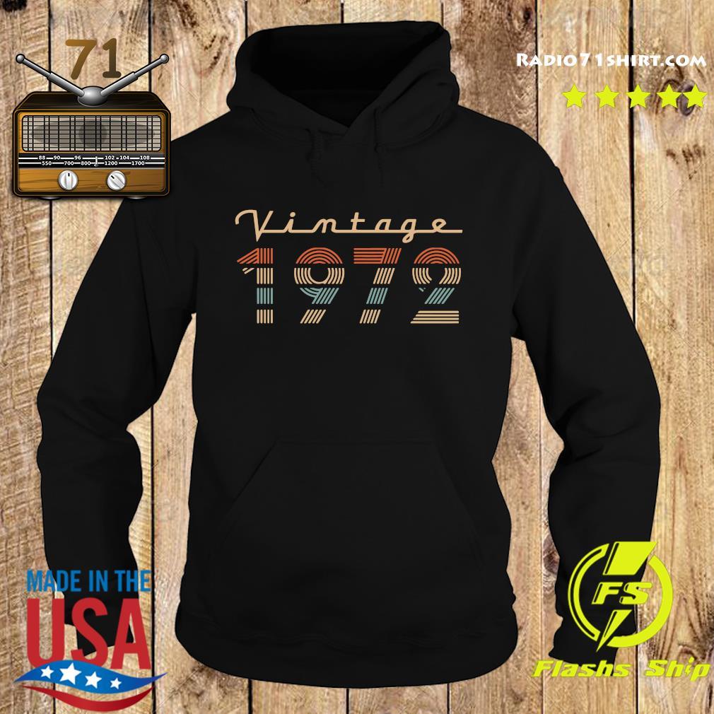 Vintage 1972 Shirt Hoodie