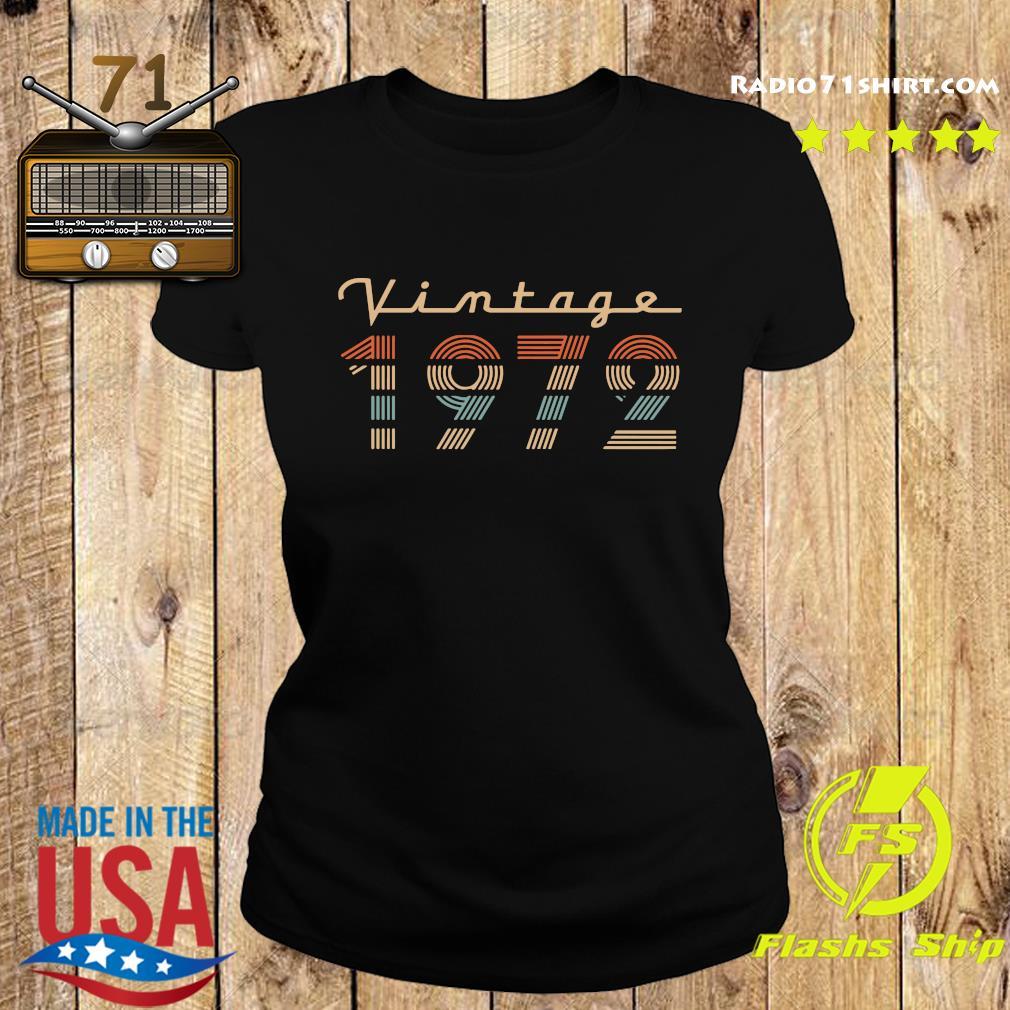 Vintage 1972 Shirt Ladies tee