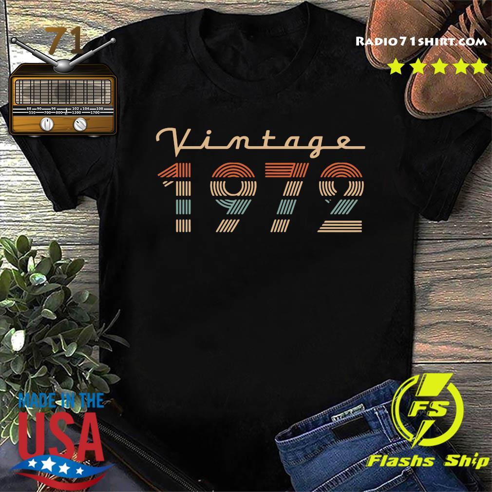 Vintage 1972 Shirt