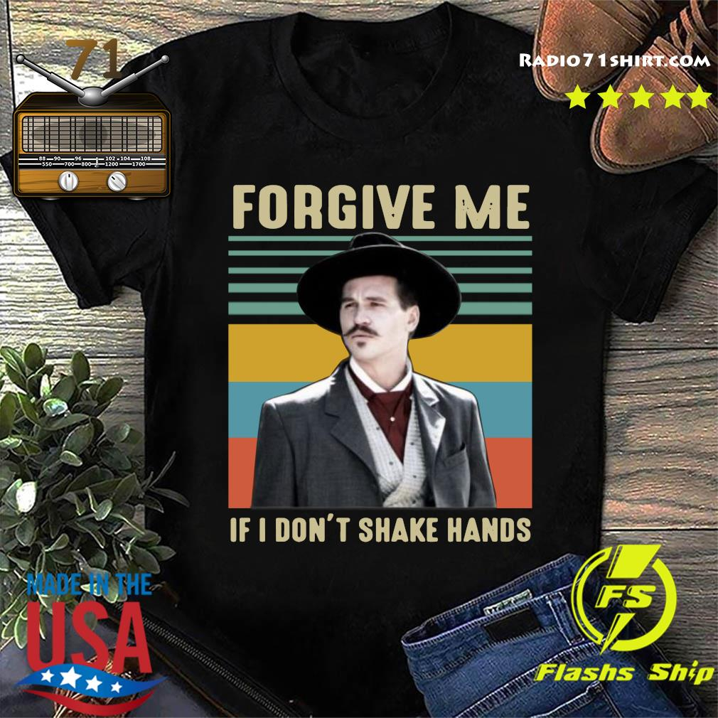 Vintage Tombstone Forgive Me If I Don't Shake Hands T-shirt
