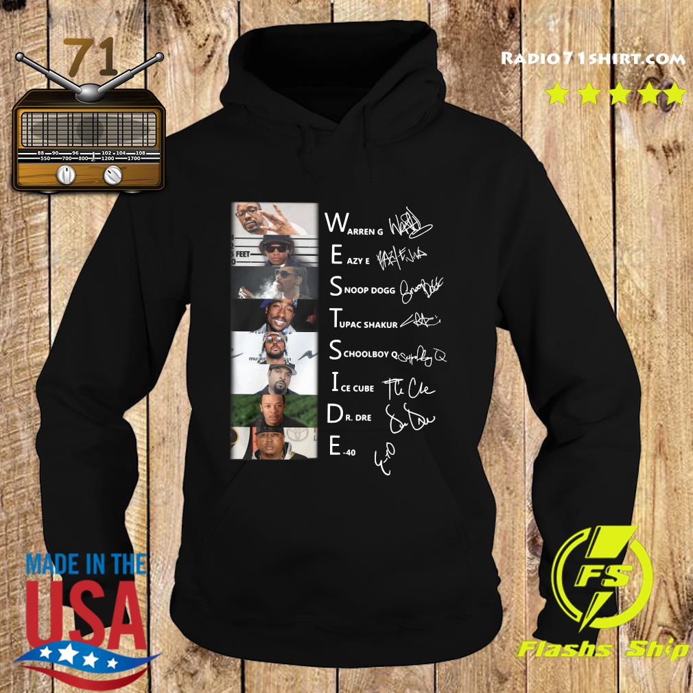 Westside Connection Hip Hop Super Band Signature Members Shirt Hoodie