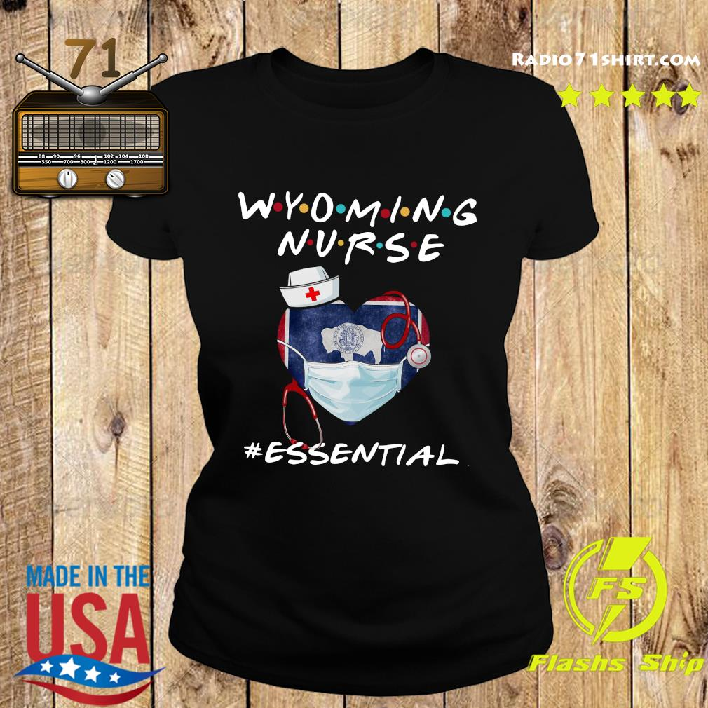 Wyoming Nurse Essential Shirt Ladies tee