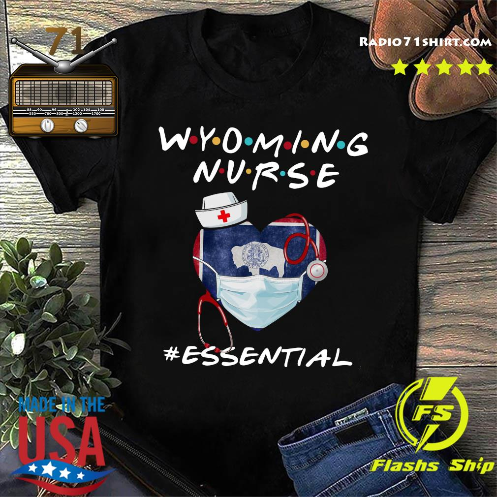 Wyoming Nurse Essential Shirt