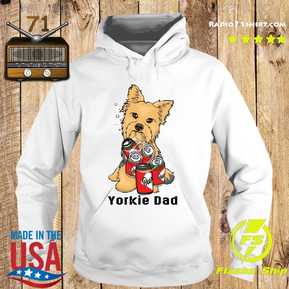 Yorkshire Yorkie Dad Beer Beer Shirt Hoodie