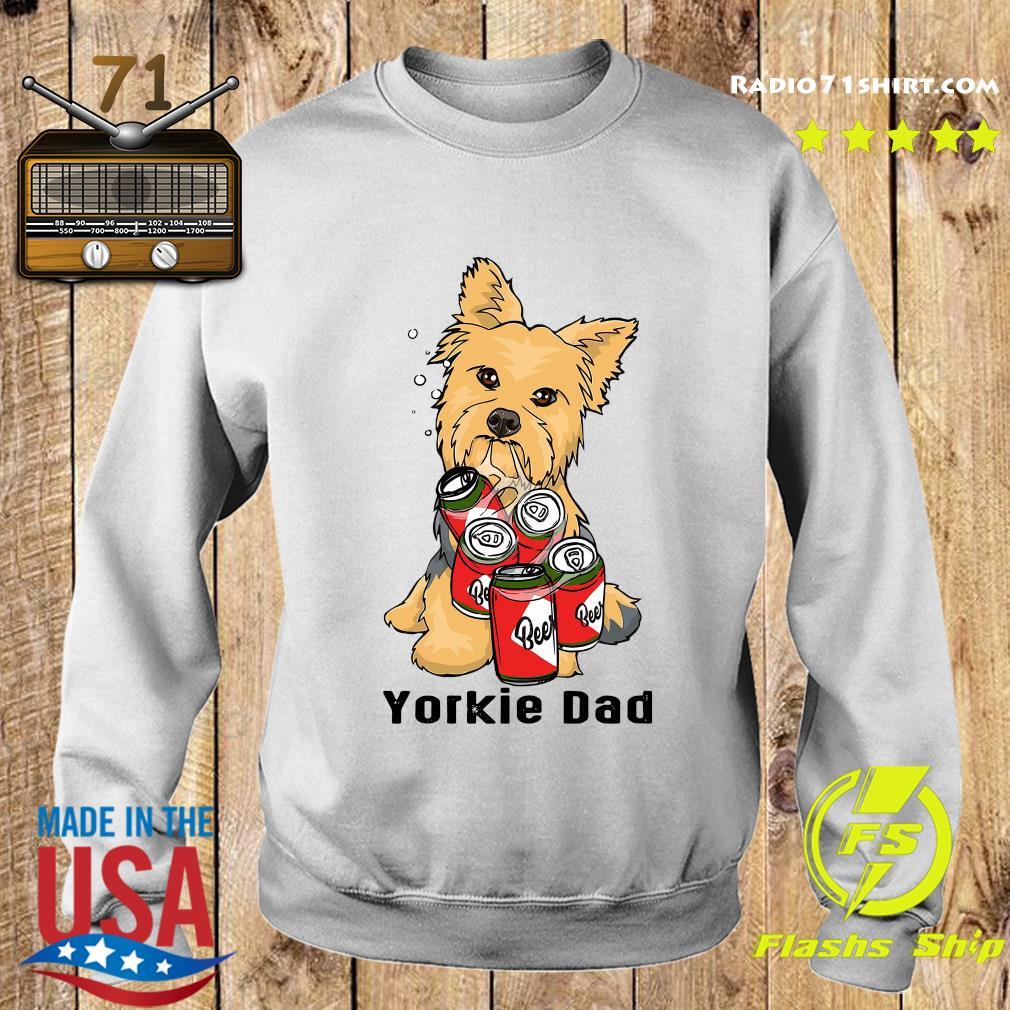 Yorkshire Yorkie Dad Beer Beer Shirt Sweater
