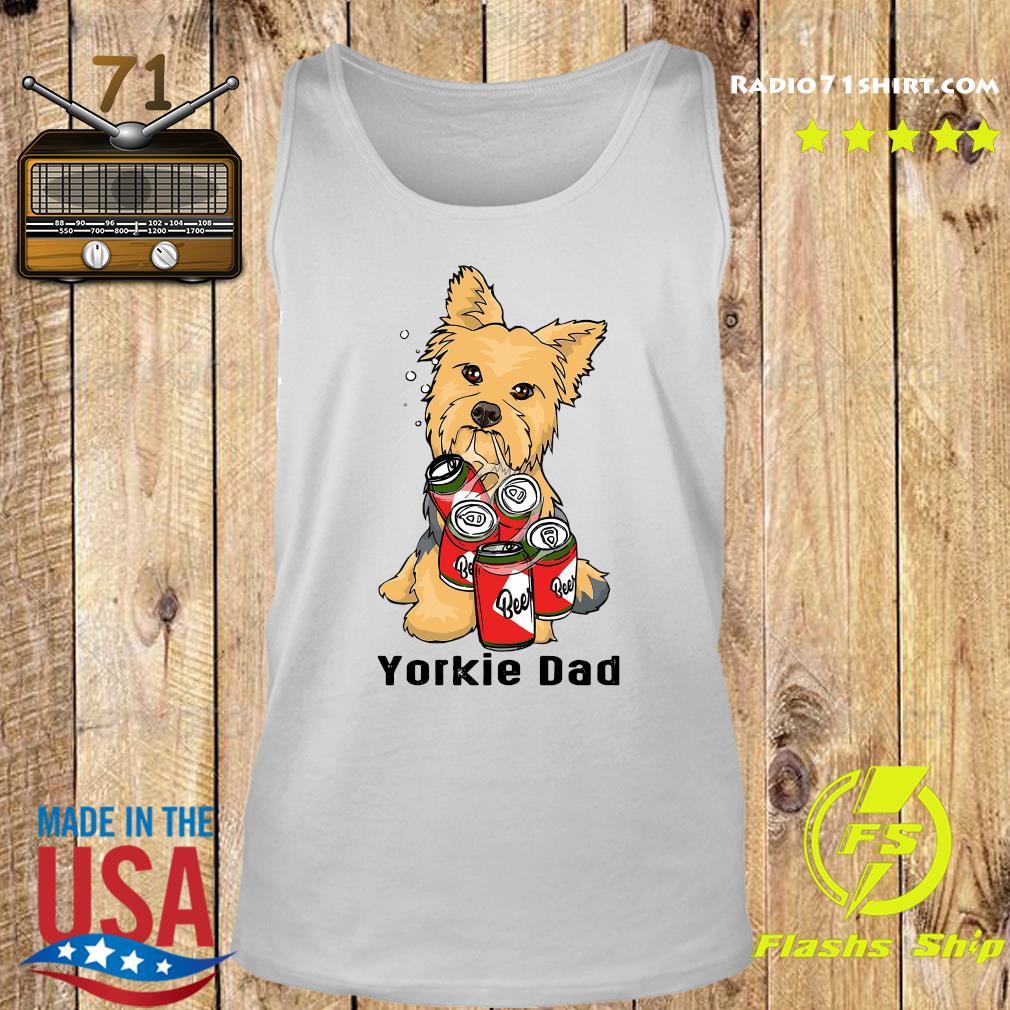 Yorkshire Yorkie Dad Beer Beer Shirt Tank top