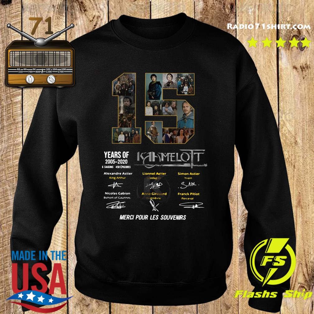 15 Years Of 2005 2020 Kaamelott 6 Saisons 458 Episodes Merci Pour Les Souvenirs Shirt Sweater